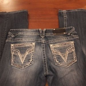 Women's sz 7/8 Vigoss jeans, super cute